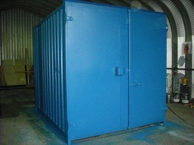 SHIPPING CONTAINERS 9ft S1 doors 32294