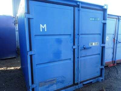 SHIPPING CONTAINERS 8ft S2 36396