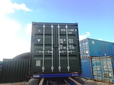 SHIPPING CONTAINERS 20ft ISO 38553