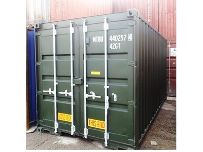 SHIPPING CONTAINERS 16ft S2 doors 34526