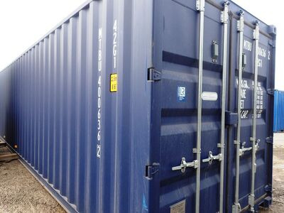 SHIPPING CONTAINERS 40ft ISO blue MTBU4006362
