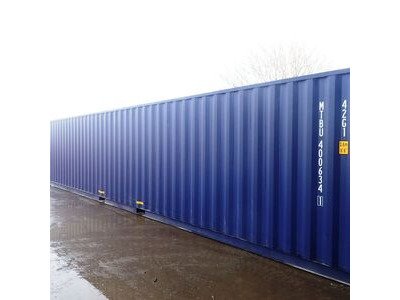 SHIPPING CONTAINERS 40ft ISO blue MTBU4006341