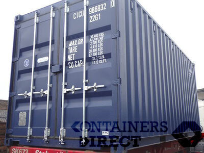 SHIPPING CONTAINERS 18ft S2 doors 38046