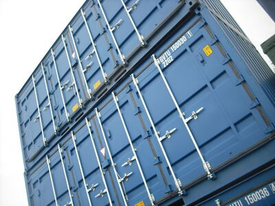 SHIPPING CONTAINERS 20' Side Doors