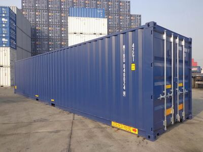 SHIPPING CONTAINERS Liverpool 40ft Tunnel-tainer SC42