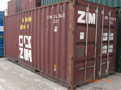 SHIPPING CONTAINERS 20ft original doors SC53