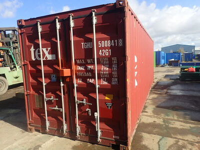 SHIPPING CONTAINERS 24ft with original doors SC59