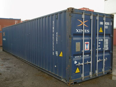 SHIPPING CONTAINERS 40ft ISO 15746