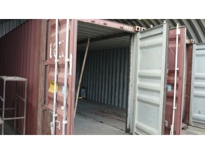 SHIPPING CONTAINERS 24ft x 16ft high cube 15845-15844
