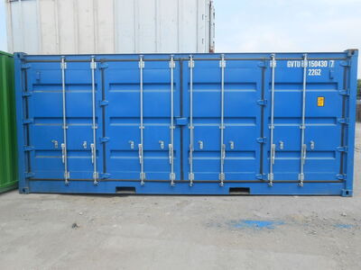 SHIPPING CONTAINERS 20ft full side access blue 15928