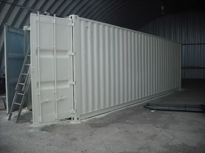 SHIPPING CONTAINERS 30ft S2 doors 19818