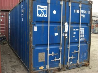 SHIPPING CONTAINERS 20ft original doors 24801