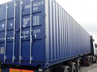 SHIPPING CONTAINERS 40ft ISO 29538