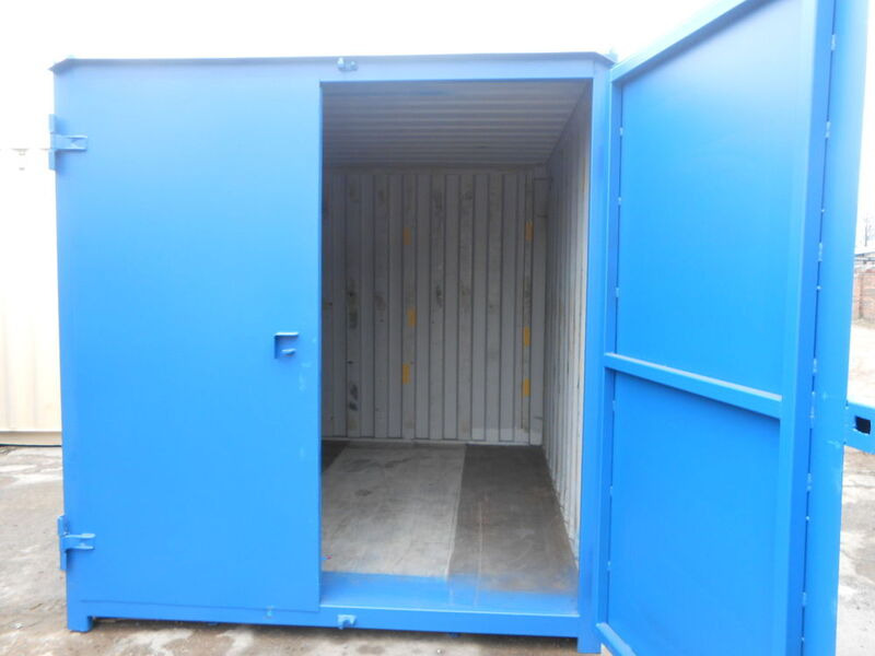 SHIPPING CONTAINERS 12ft S1 doors 36689 click to zoom image