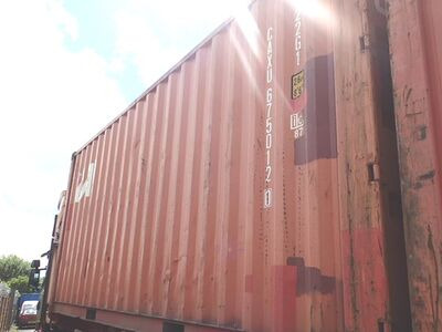 SHIPPING CONTAINERS 20ft original doors 32694