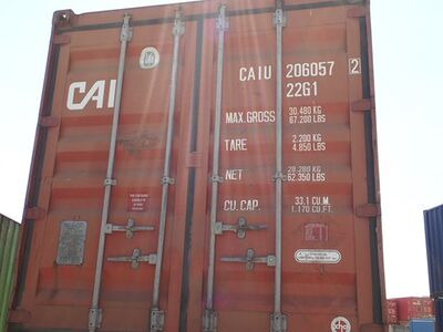 SHIPPING CONTAINERS 20ft ISO red CAIU2060572