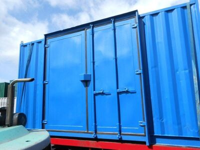 SHIPPING CONTAINERS 15ft S3 doors 34816