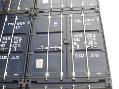 SHIPPING CONTAINERS ISO 20ft - 3186