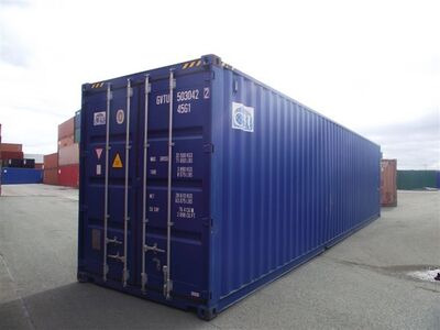 SHIPPING CONTAINERS 40ft ISO 31652