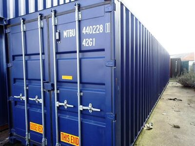 SHIPPING CONTAINERS 40ft ISO 36908