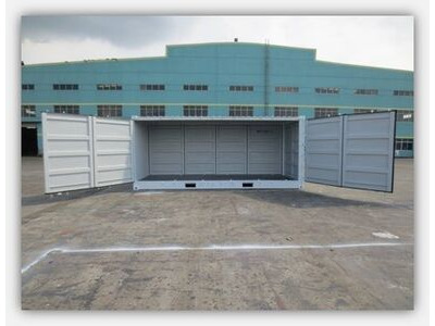 SHIPPING CONTAINERS 20ft Dual Open-Sider