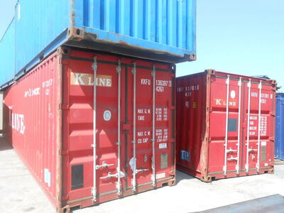 SHIPPING CONTAINERS 40ft original 40247