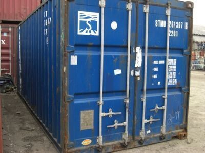 SHIPPING CONTAINERS 20ft original 16813