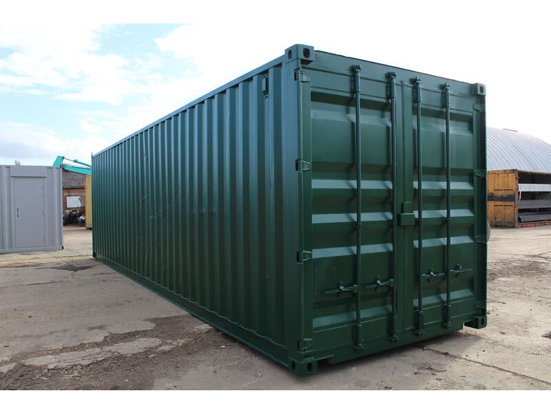 Second Hand 30ft Shipping Containers 30ft - S2 Doors click to zoom image