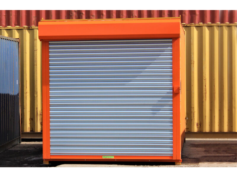 Second Hand 30ft Shipping Containers 30ft Used - S4 Roller Shutter Doors click to zoom image
