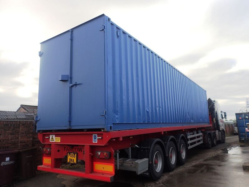 Second Hand 30ft Shipping Containers 30ft S1 Doors click to zoom image