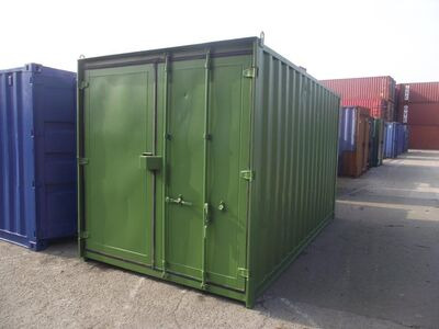 15ft Shipping Containers For Sale 15ft S3 Doors