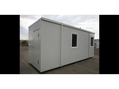 SELF ASSEMBLY SITE OFFICES 20ft FLAT PACK SITE OFFICE CONTAINER EXPCOM20