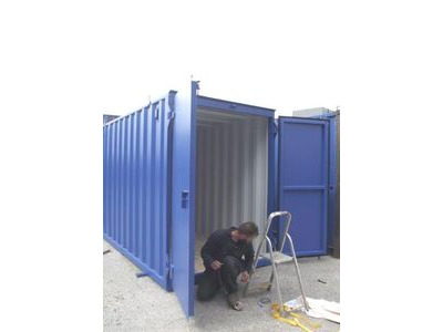 Storage Containers For Sale New build 7ft wide x 20ft long SLM720 click to zoom image