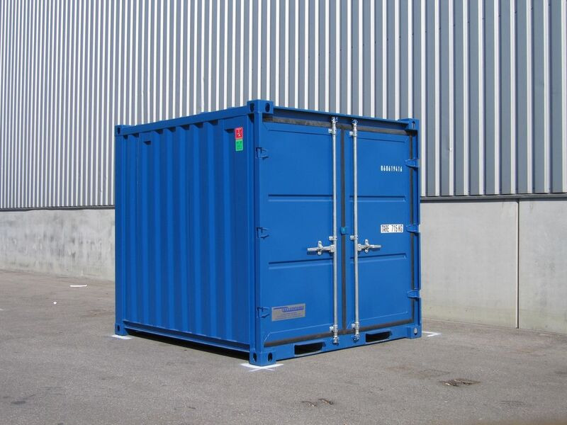 STORAGE CONTAINERS CT08 8ft Store click to zoom image