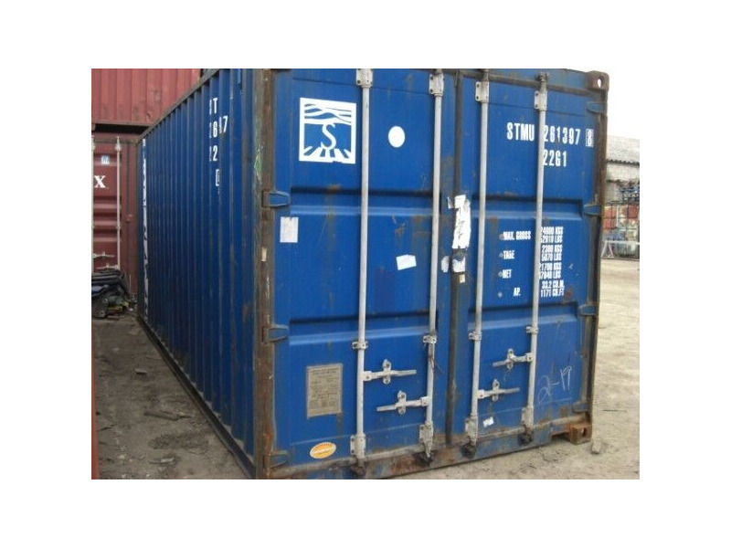 STORAGE CONTAINERS 20ft ply lined click to zoom image