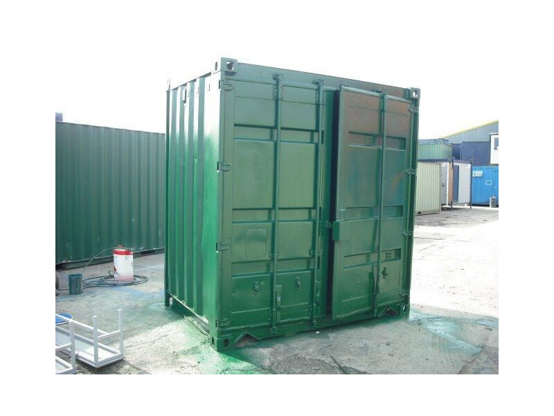 Storage Containers For Sale 4ft S2 doors 42803 click to zoom image