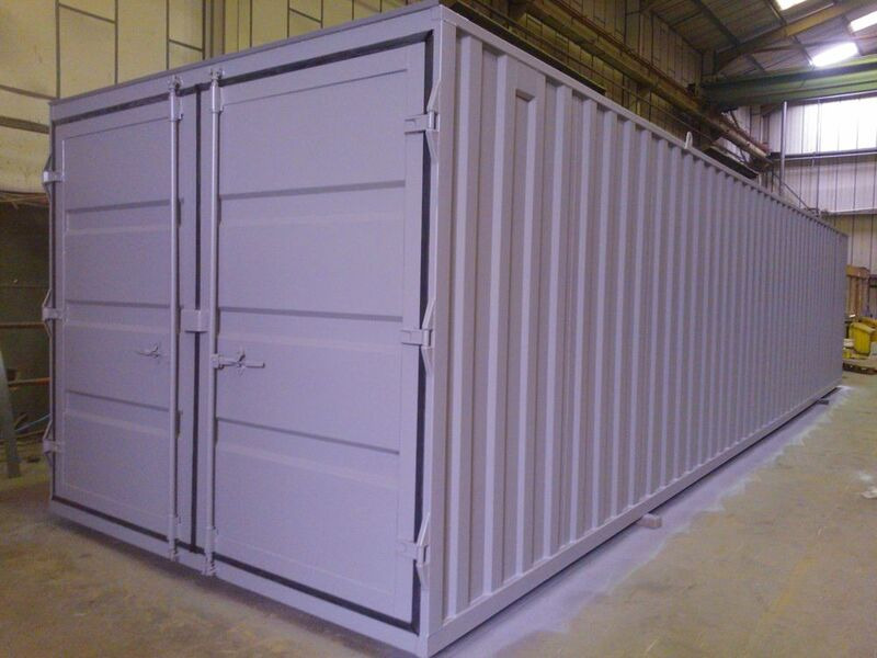 Storage Containers For Sale 10ft wide x 40ft long STC01040 click to zoom image