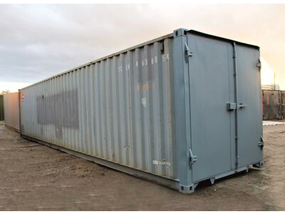 Used 40ft Shipping Containers For Sale 40ft ISO S1 doors