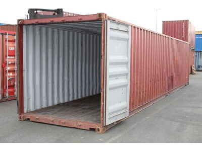 Used 40ft Shipping Containers 40ft S2 doors click to zoom image