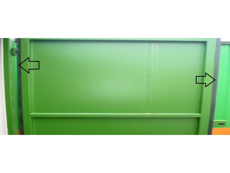 SHIPPING CONTAINER Compressed door seal click to zoom image
