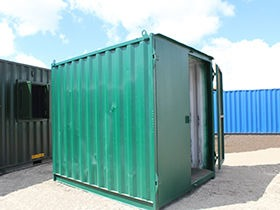 10ft Shipping Containers - Used