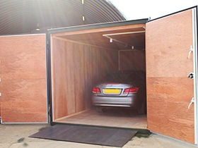 10ft WIDE GARAGE CONTAINER