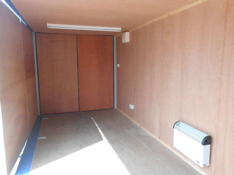 CONTAINER CONVERSION CASE STUDIES 20ft S1 side doors CS18787 click to zoom image