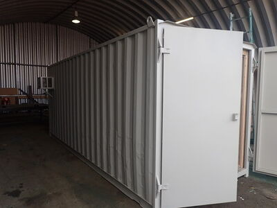 CONTAINER CONVERSION CASE STUDIES 20ft Ply Lined and Insulated