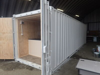 CONTAINER CONVERSION CASE STUDIES 30ft equipment store
