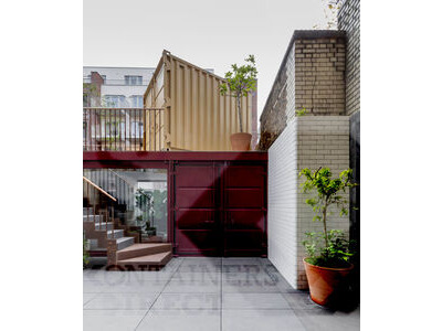 Shipping Container Conversions 4 x 10ft office build
