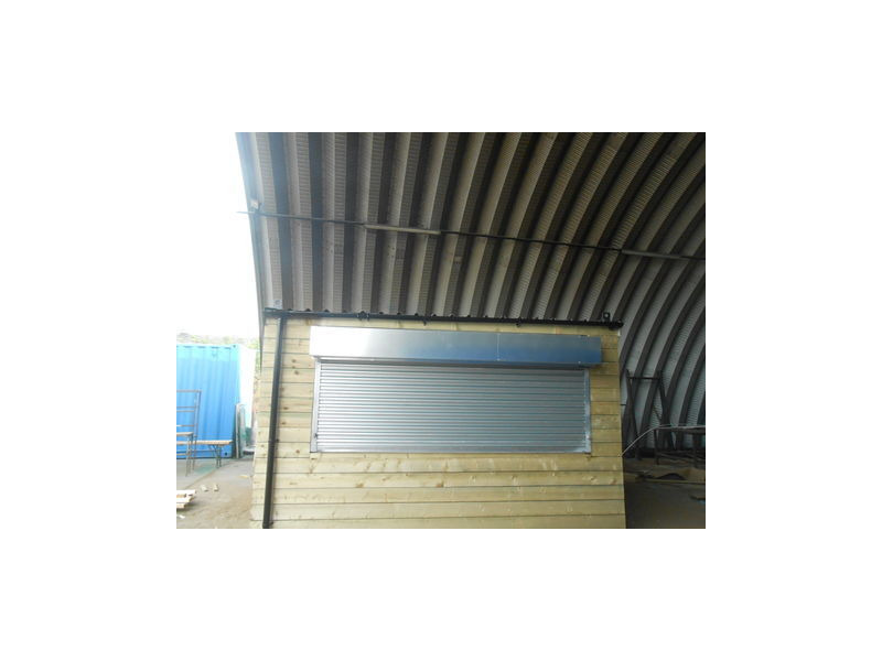 CONTAINER CONVERSIONS 13ft x 9ft cladded tuck shop click to zoom image