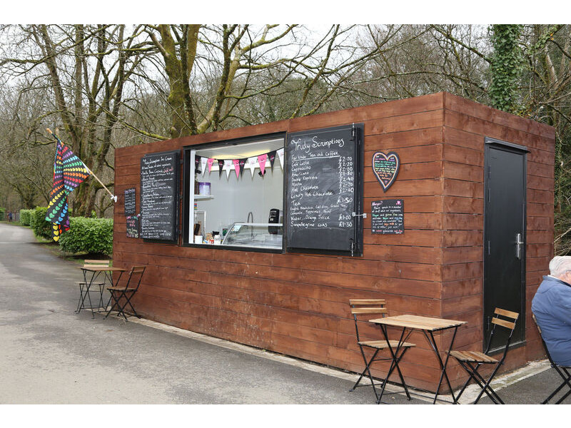CONTAINER CONVERSIONS 20ft cladded rural cafe CS43089 click to zoom image