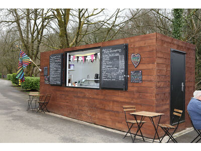 CONTAINER CONVERSIONS 20ft cladded rural cafe CS43089