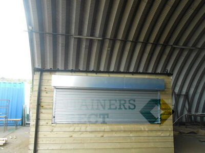 CONTAINER CONVERSIONS 13ft x 9ft cladded tuck shop CS16196